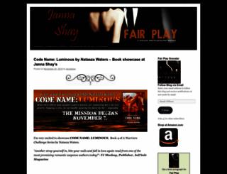 jannashay.wordpress.com screenshot