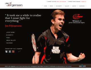 janojorgensen.com screenshot