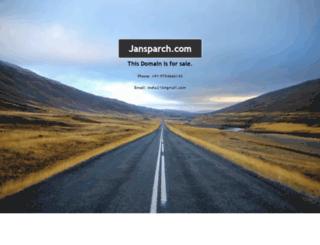 jansparsh.com screenshot
