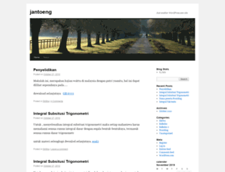 jantoeng.wordpress.com screenshot