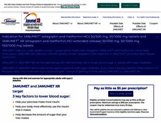 janumet.com screenshot