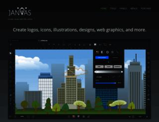 janvas.com screenshot