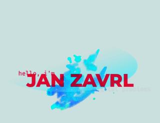 janzavrl.me screenshot