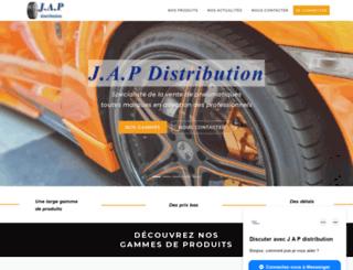jap-distribution.com screenshot