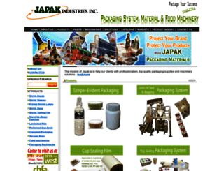 japak.com screenshot