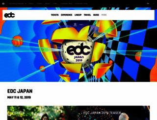 japan.electricdaisycarnival.com screenshot