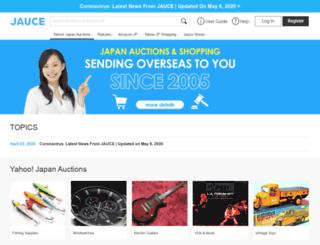 japanauctioncenter.com screenshot