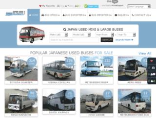 japanese-buses.com screenshot