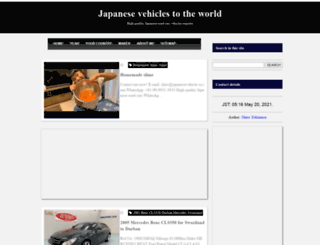 japanesevehicle-sy.com screenshot