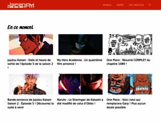 japanfm.fr screenshot