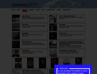 japanfocus.org screenshot
