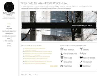 japanpropertycentral.com screenshot