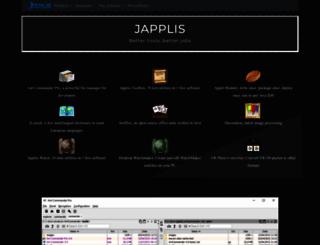 japplis.com screenshot