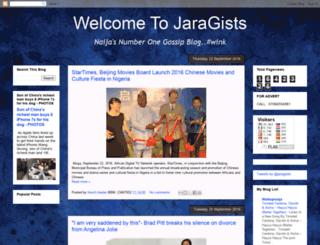 jaragists.blogspot.com screenshot