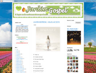 jardimgospel.blogspot.com screenshot