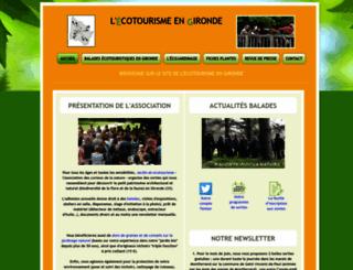 jardin-et-ecotourisme.fr screenshot