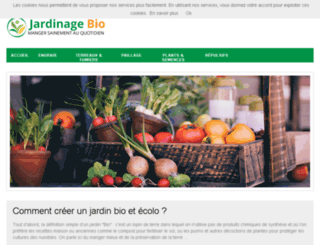 jardinage-bio.net screenshot