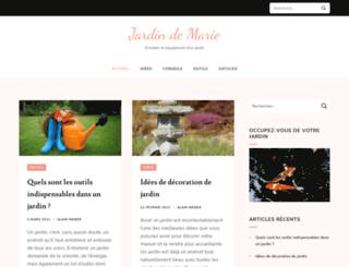 jardindemarie.org screenshot