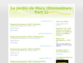 jardindemary.blogjardin.com screenshot