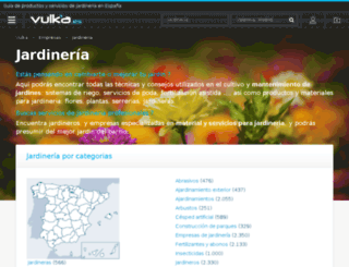 jardineria.vulka.es screenshot