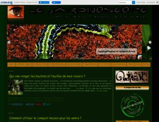jardinoscopeprat.canalblog.com screenshot