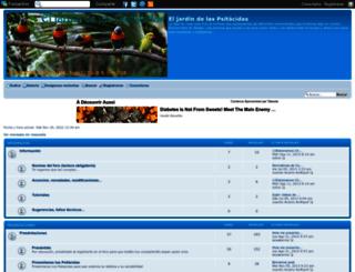 jardinpsitacidas.foroactivo.com screenshot