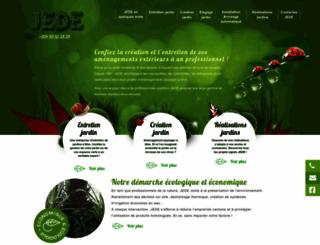 jardins-jede.com screenshot