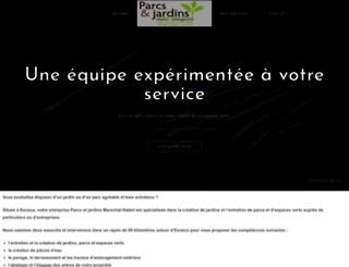 jardins-marechal-hatert.be screenshot