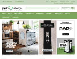 jardinsurbanos.com.br screenshot