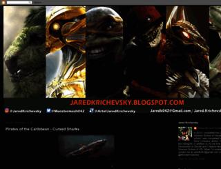 jaredkrichevsky.blogspot.com screenshot