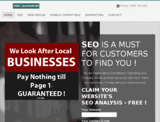 jaredsmithseo.com.au screenshot
