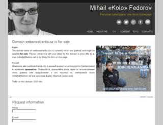 jarnovo.webovastranka.cz screenshot