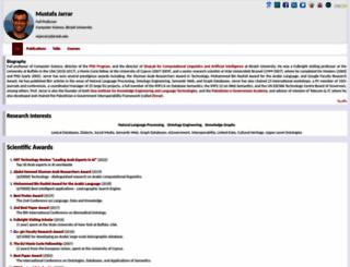 jarrar.info screenshot