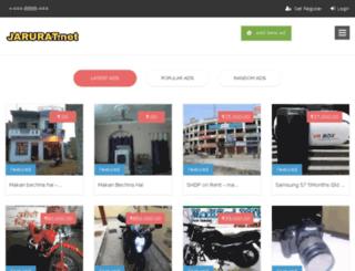 jarurat.net screenshot