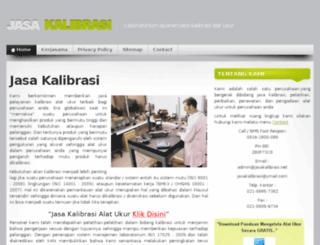 jasakalibrasi.net screenshot