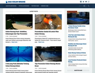jasakolamrenang.com screenshot