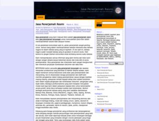 jasapenerjemahresmibts.wordpress.com screenshot