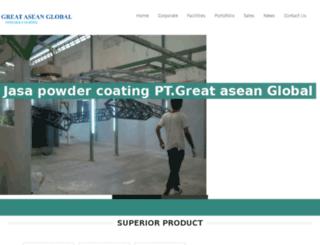 jasapowdercoating.co.id screenshot