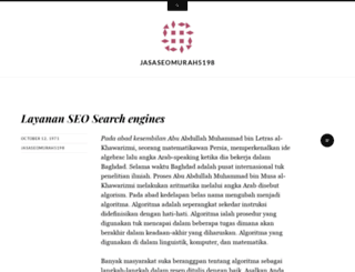 jasaseomurah5198.wordpress.com screenshot