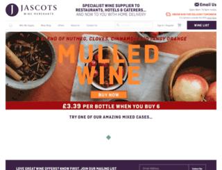 jascotswinemerchants.co.uk screenshot