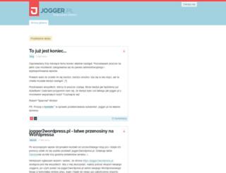 jasisz.jogger.pl screenshot