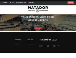 jasminewanders.matadoru.com screenshot