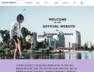 jasmynespencersoccer.com screenshot