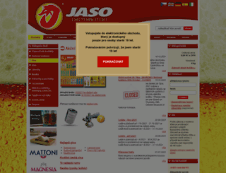 jaso.cz screenshot