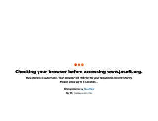 jasoft.org screenshot