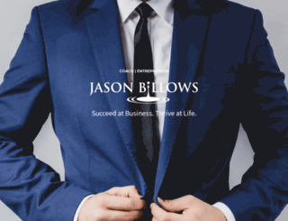 jasonbillows.com screenshot