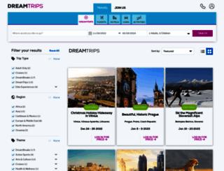 jasonblairmba.dreamtrips.com screenshot