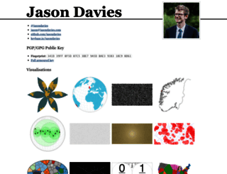 jasondavies.com screenshot