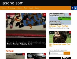 jasonelsom.inspireworthy.com screenshot