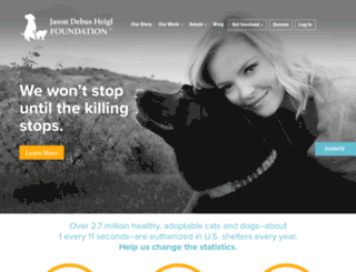 jasonheiglfoundation.org screenshot